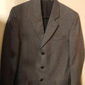 Perry Ellis Sports Coat Blazer Suit Jacket Wool